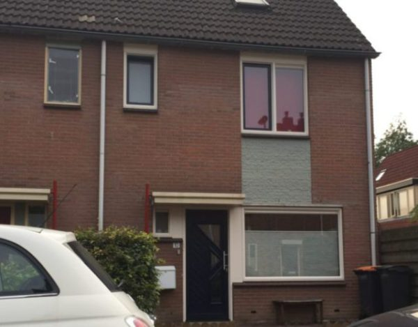 kunststof kozijnen geplaatst aan Veldhommel 10 in Deventer