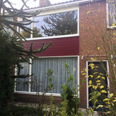 Kunststof kozijnen geplaatst in Ede aan de J bosboomstraat door ETD kozijn.