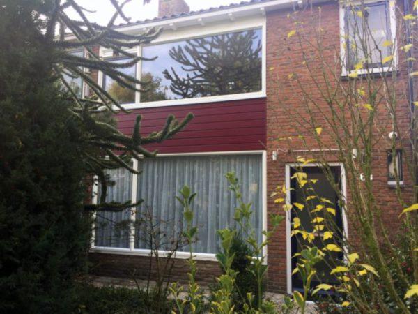 Kunststof kozijnen geplaatst in Ede aan de J Bosboomstraat door de monteurs van ETD kozijn.