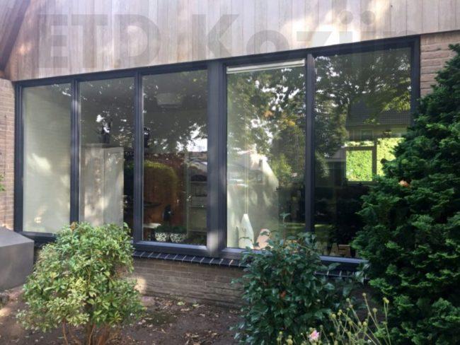 Kunststof kozijnen geplaatst aan Larixweg 1 in Eibergen