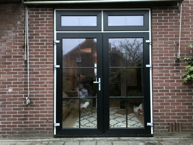 kunststof tuindeuren geplaatst in Zutphen aan Graaf Ottosingel 173 door ETD kozijn.