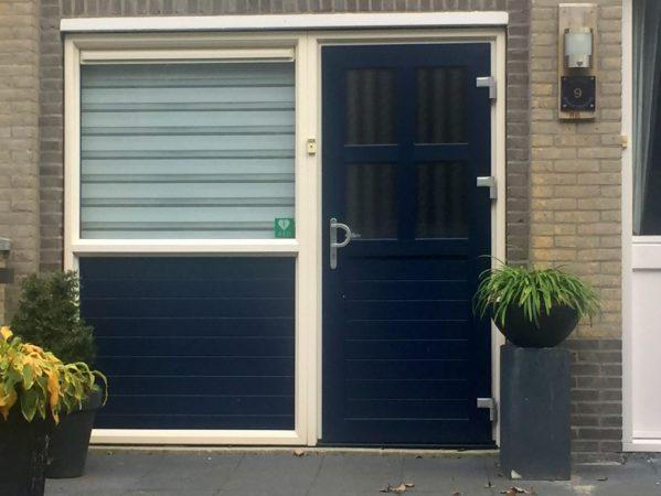 Kunststof kozijnen geplaatst aan HP Berlagestraat in Almere