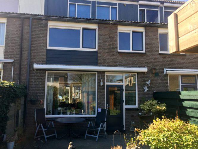 kunststof kozijnen vervangen achterzijde woning arnhem aan Deurnestraat