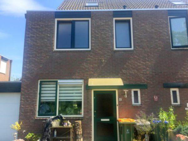 Kunststof kozijnen Veenedaal geplaatst aan Schadijk 82 door ETD kozijn.